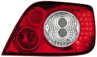 Citroen Xsara 98-03 LED Red/ Crystal