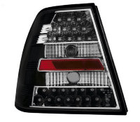 VW Bora 98-05 4D Sedan LED Crystal/ Black
