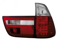 BMW X5 E53 98-02 LED/ Red/ Crystal